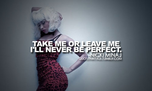 Nicki Minaj Pics With Quotes: Nicki Minaj Sad Quotes. QuotesGram