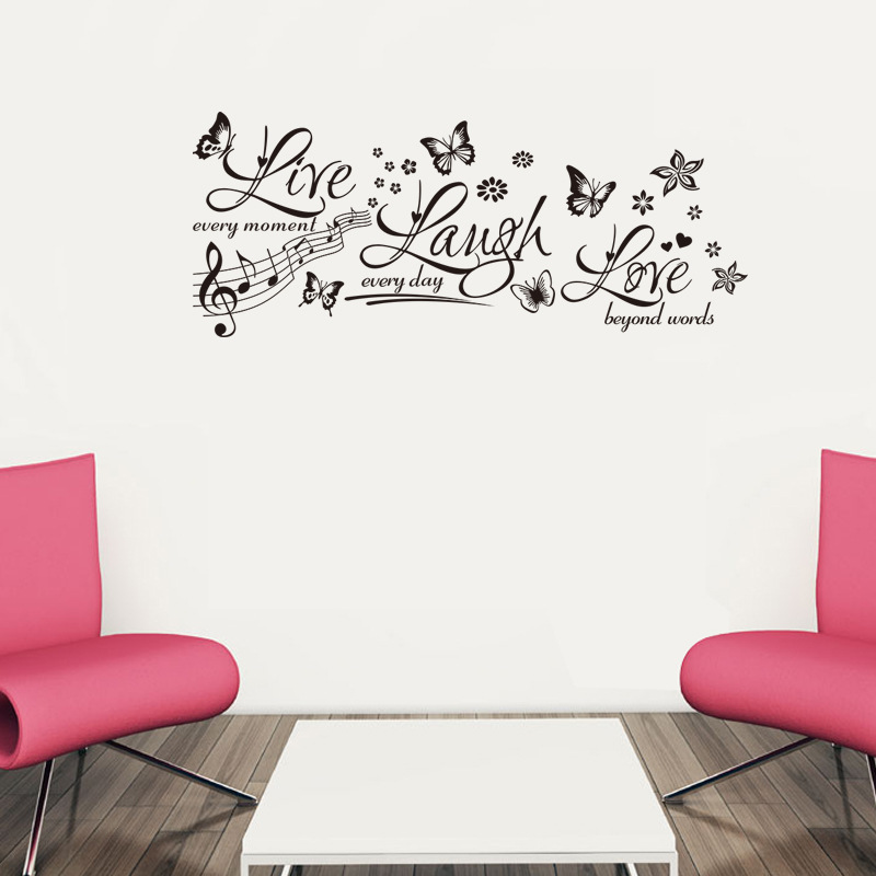 Wall Art Quotes From Songs : Wall decal quotes music quotesgram