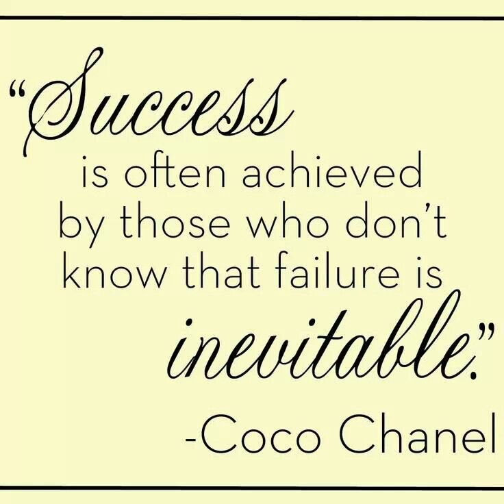 Motivational Quotes About Success: Success Quotes Chanel. QuotesGram