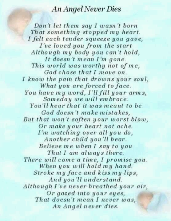 Baby Angel Quotes Poems. QuotesGram
