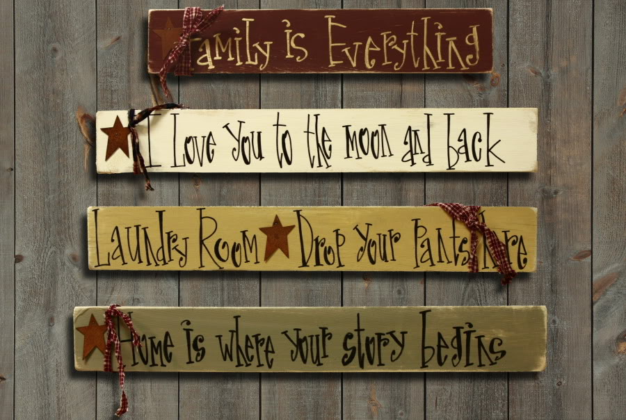 Painted Welcome Sign Craft