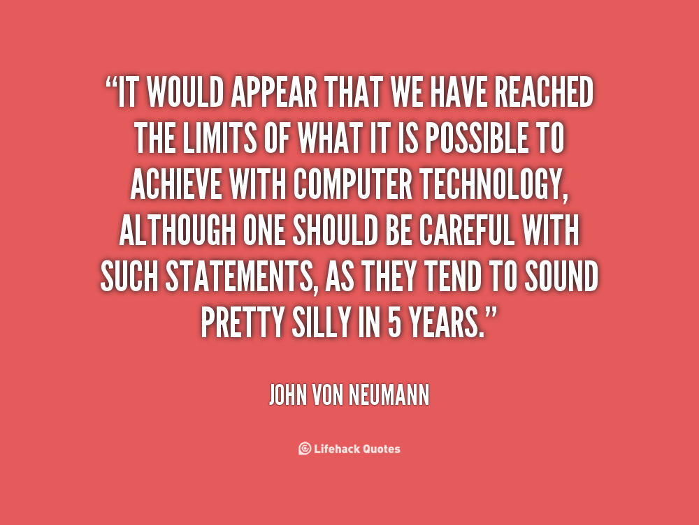 John Money Quotes Quotesgram: John Von Neumann Quotes. QuotesGram