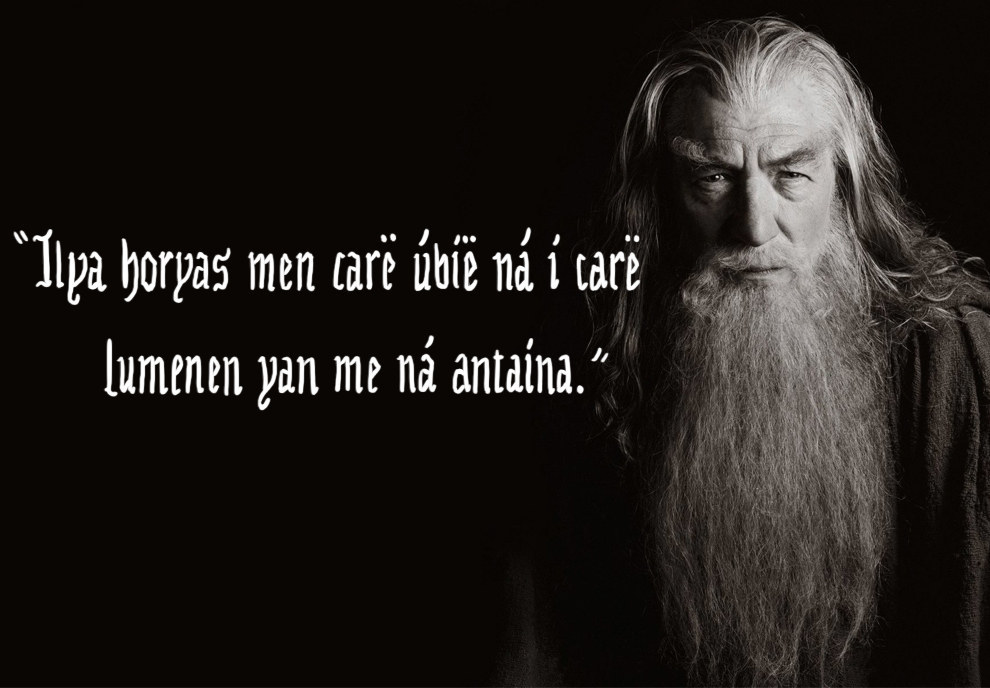 Lord Of The Rings Elvish Quotes. QuotesGram
