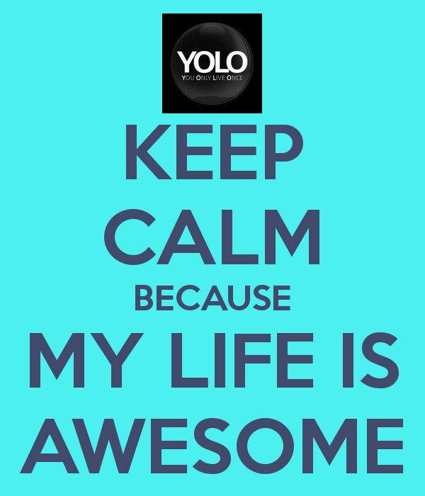 Is My Life Awesome Quotes. QuotesGram