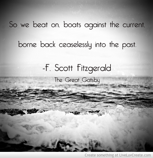 What is F. Scott Fitzgerald's view of the American Dream?