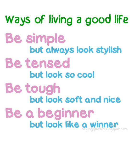 Life Is So Easy Quotes: Quotes About Simple Life. QuotesGram