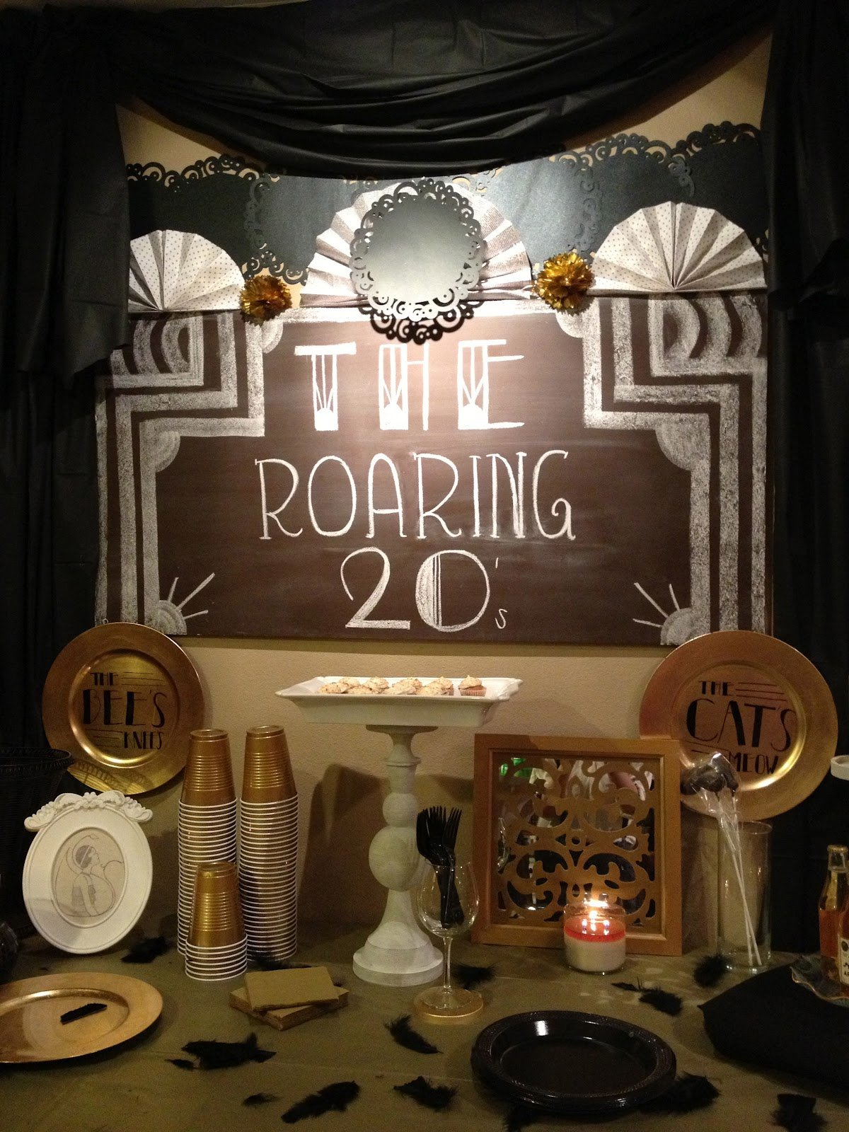 Roaring 20 s party quotes quotesgram for 1920s party decoration