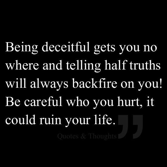 Deception Quotes: Deceit Quotes And Sayings. QuotesGram