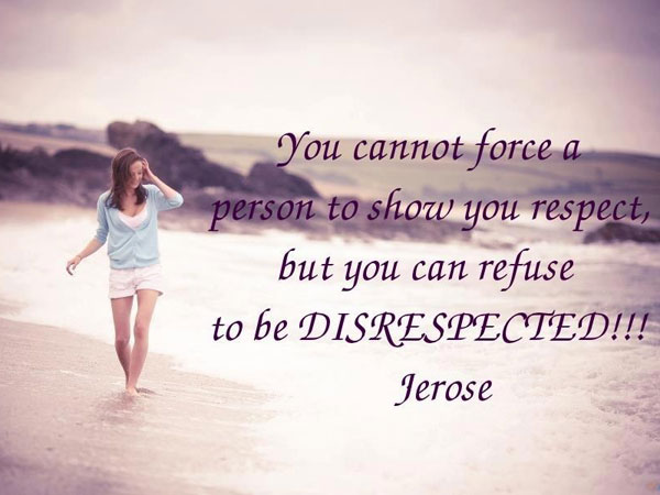 unrespectful