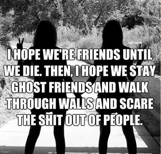 Friends Forever Funny Quotes