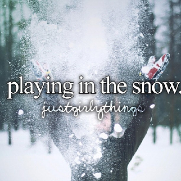 cute quotes about snow  quotesgram
