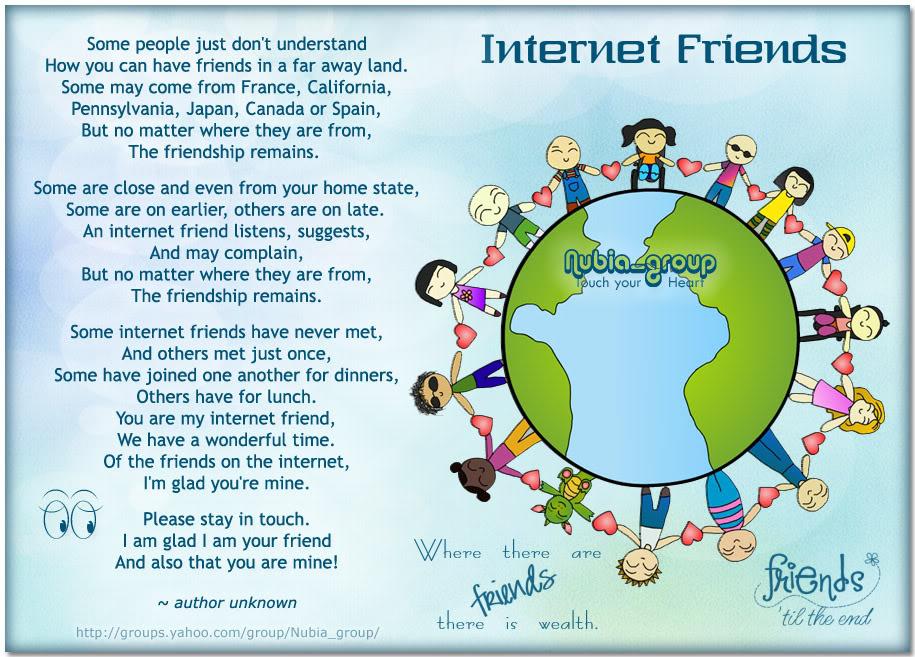 Quotes About Internet Friends Quotesgram