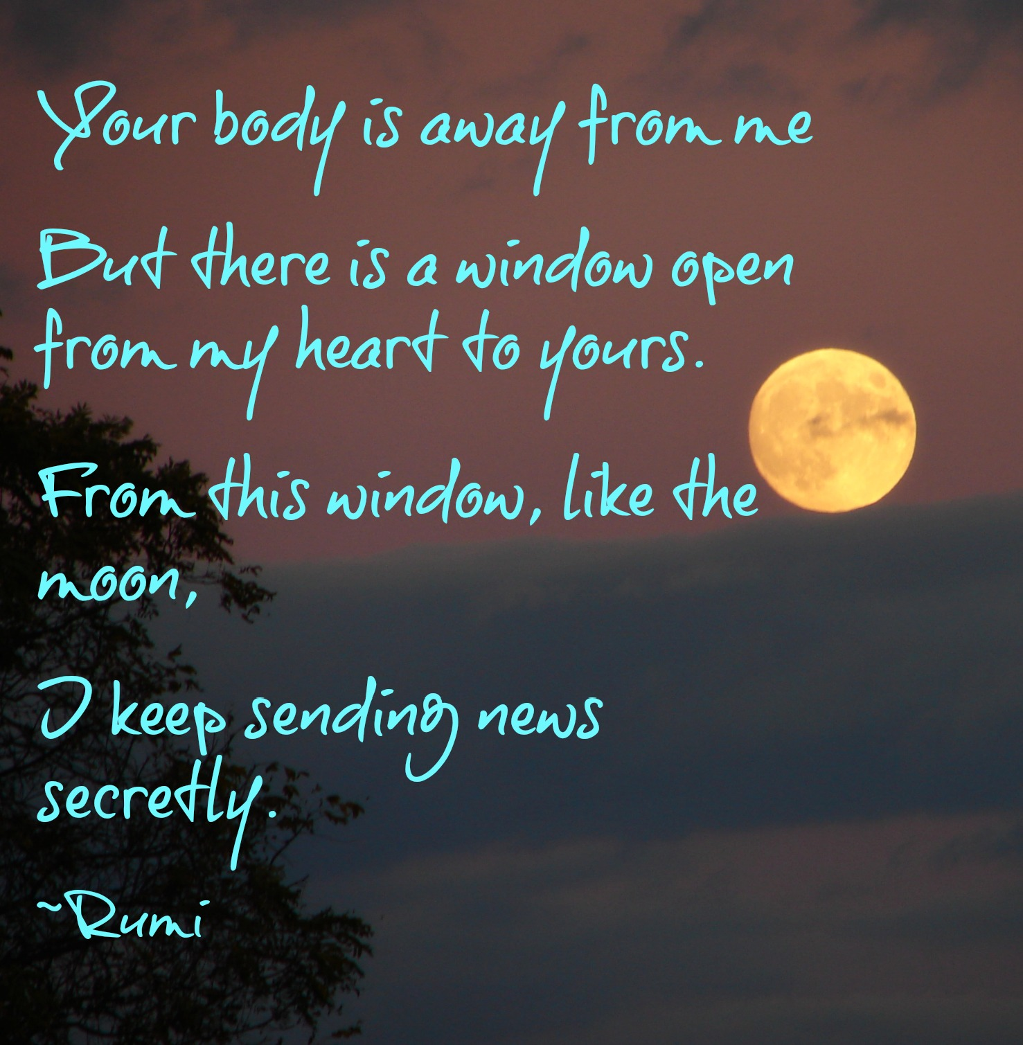 Quotes About Love: Rumi Moon Quotes. QuotesGram
