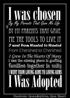Adopted Daughter Quote...