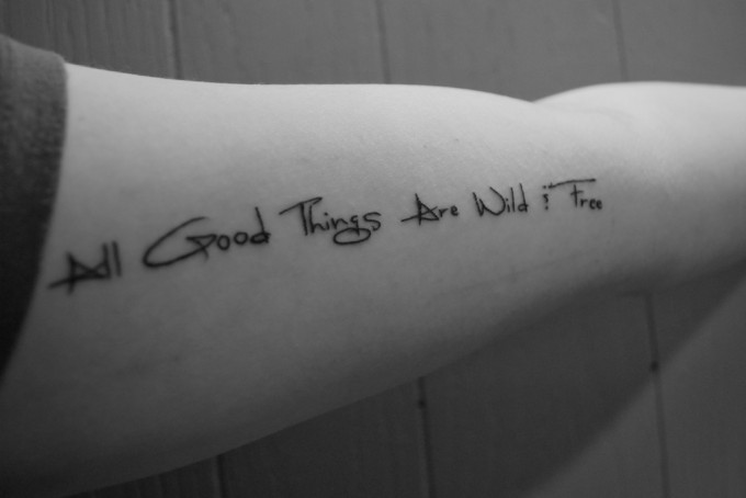 good quotes to get tattooed quotesgram