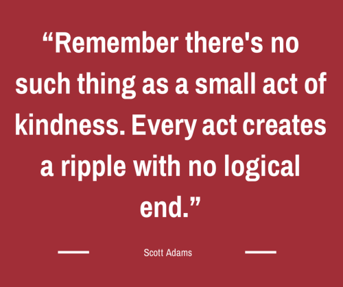 Acts Of Kindness Quotes: Small Acts Of Kindness Quotes. QuotesGram