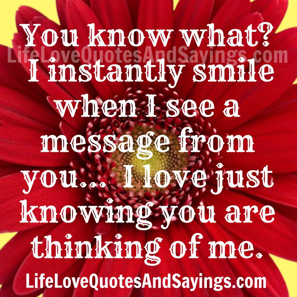 Miss U Quote For Him: Thinking Of You My Love Quotes. QuotesGram