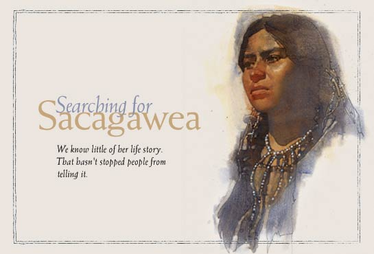 the life of sacagewea and her contributions to the discovery of america
