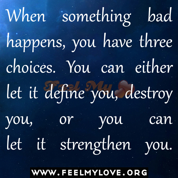 Good And Bad Quotes: Good And Bad Choice Quotes. QuotesGram