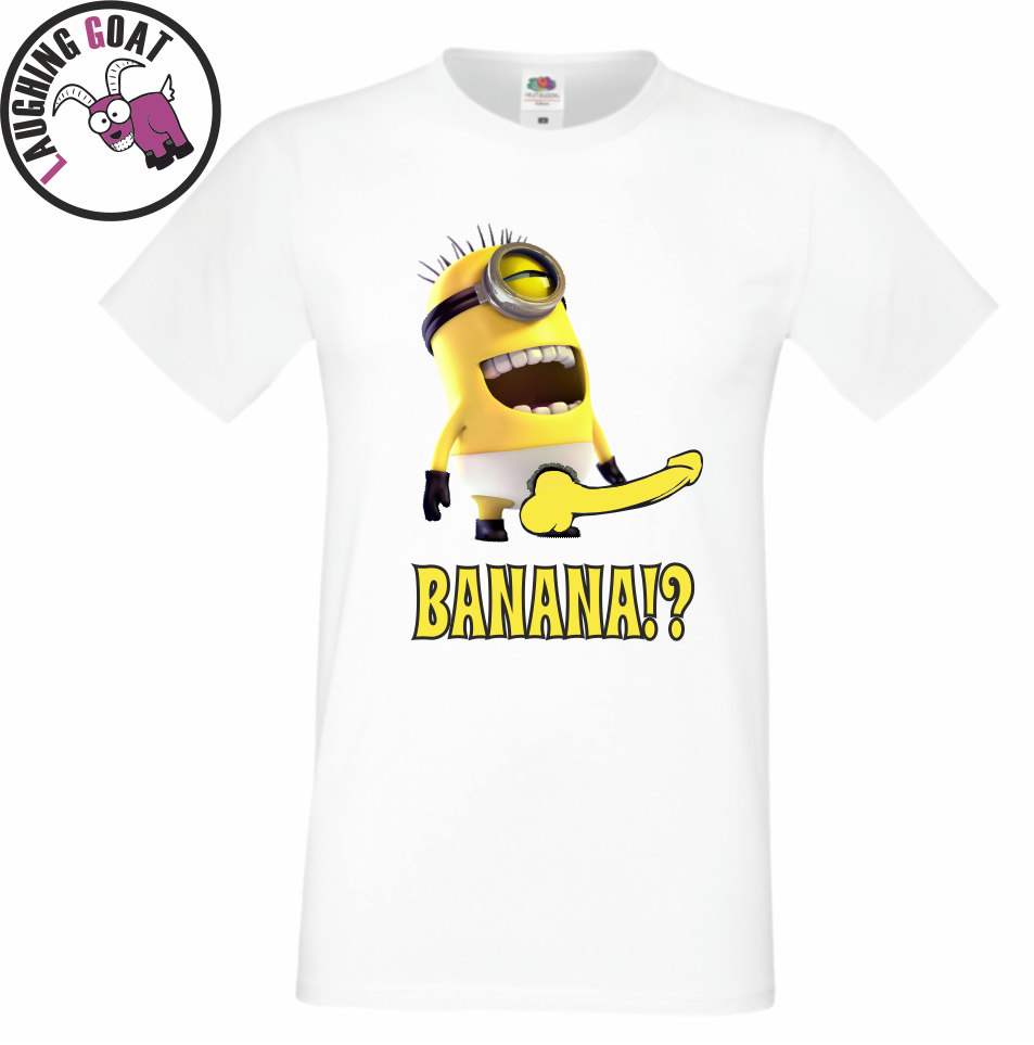 Minions Saying Banana