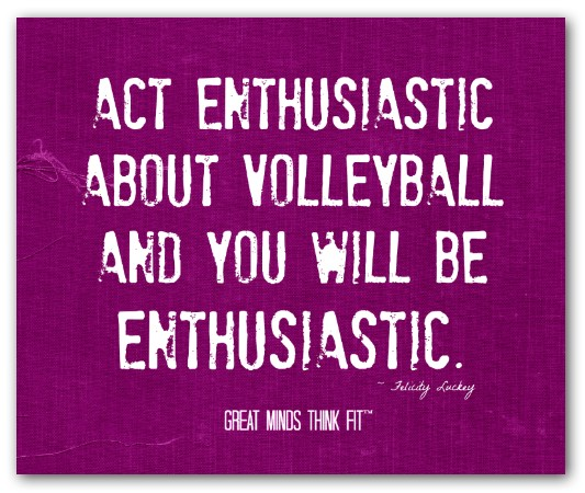 Amazing Motivation: Amazing Volleyball Quotes. QuotesGram