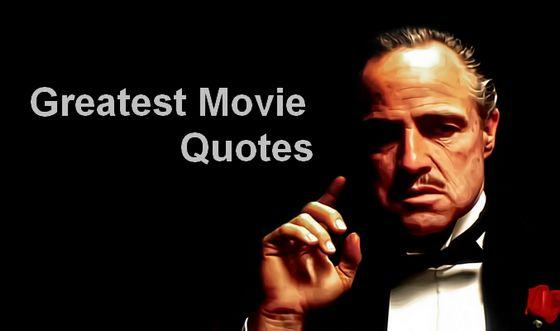 Movie Lines: Greatest Movie Quotes. QuotesGram