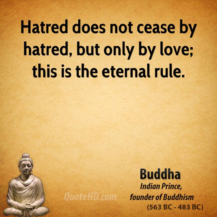 Quotes By Buddha: Buddha Quotes On Hate. QuotesGram
