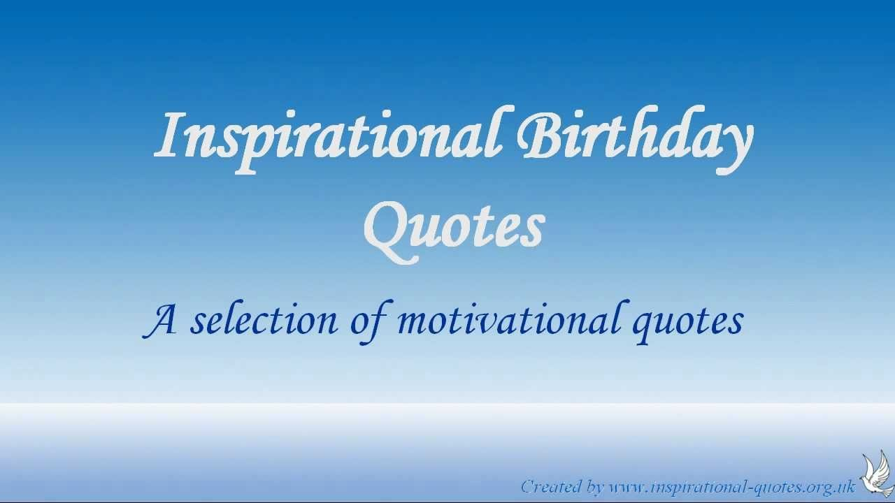 Inspirational Quotes: Inspirational Birthday Quotes For Friends. QuotesGram