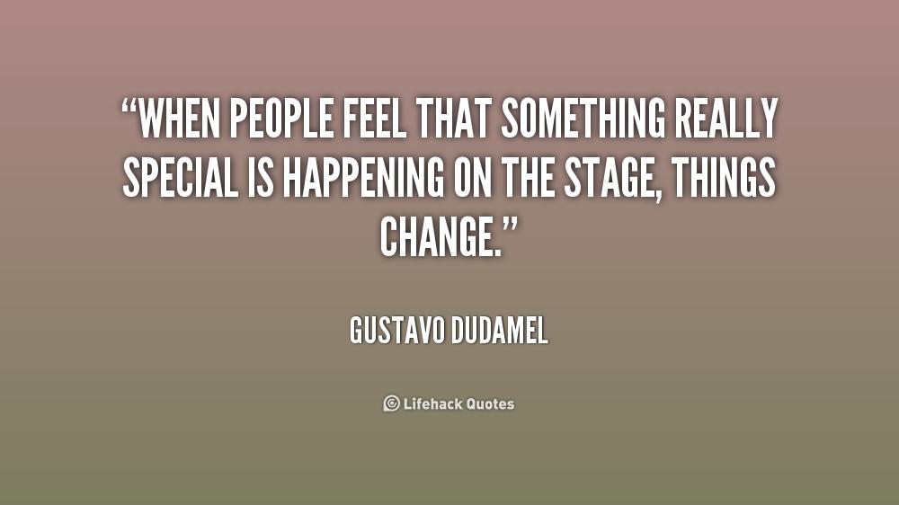 Gustavo Dudamel Quotes. QuotesGram