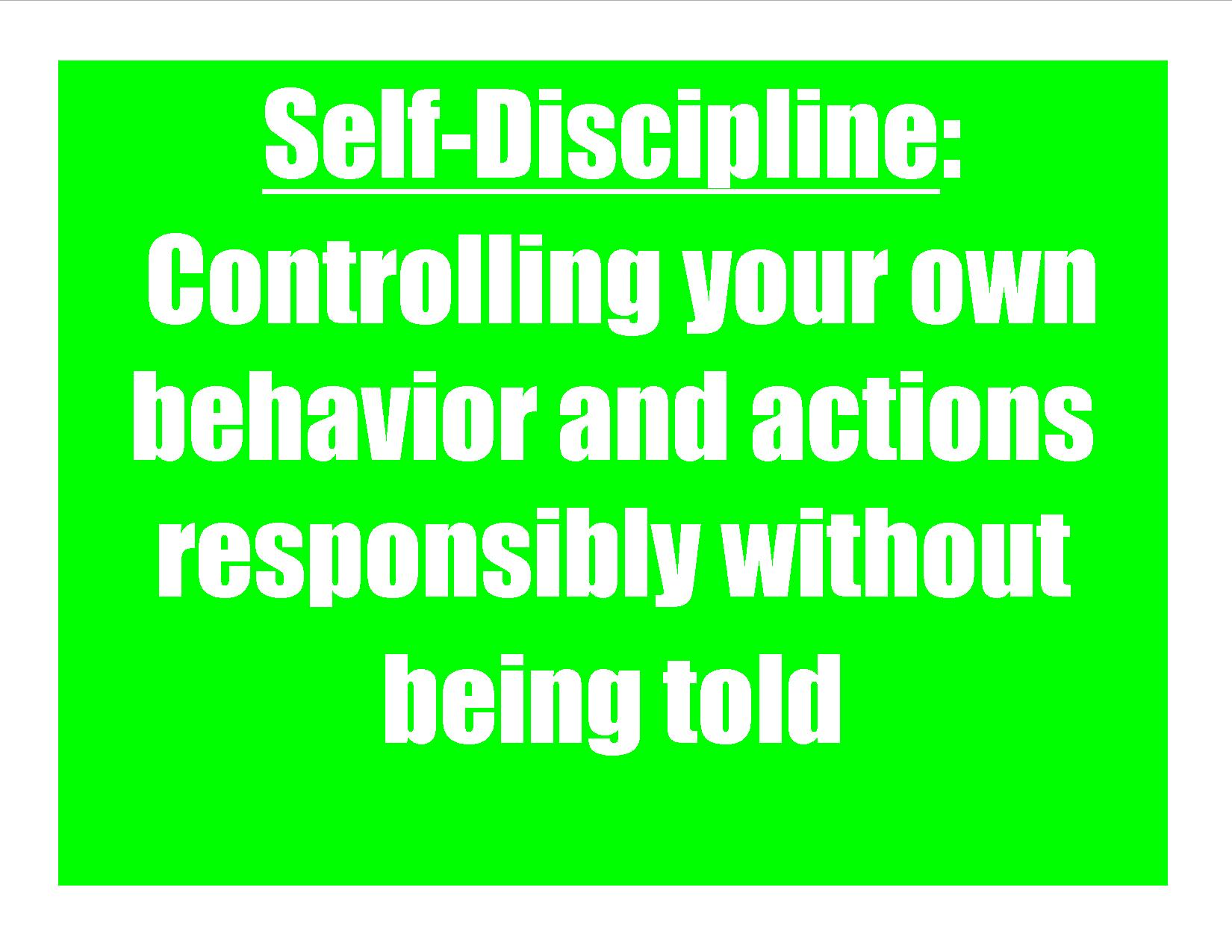 self discipline quotes for students quotesgram