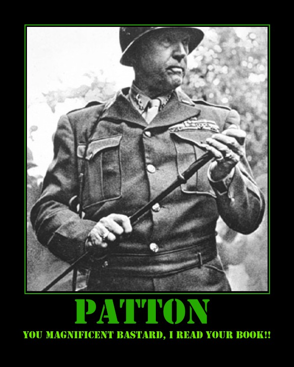 analysis of general pattons speech made Soldiers who served under the real george s patton said that the general's voice   at the time of his speech, he was a full general (four stars), as evidenced by.
