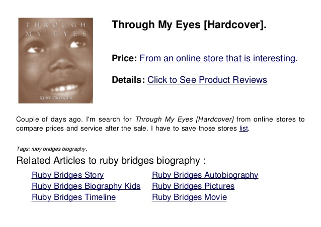 By Ruby Nell Bridges Quotes Quotesgram