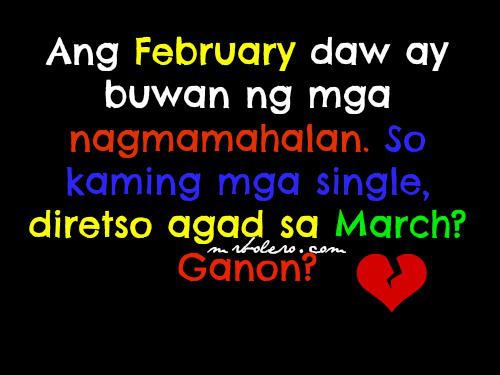 Bitter Quotes About Love Tagalog: Quotes Para Sa Mga Bitter. QuotesGram