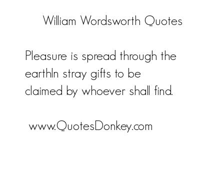 William Wordsworth Quotes. QuotesGram