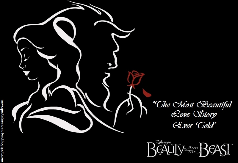 Quotes From Beauty And The Beast About The Rose Inspirational Quotes B...