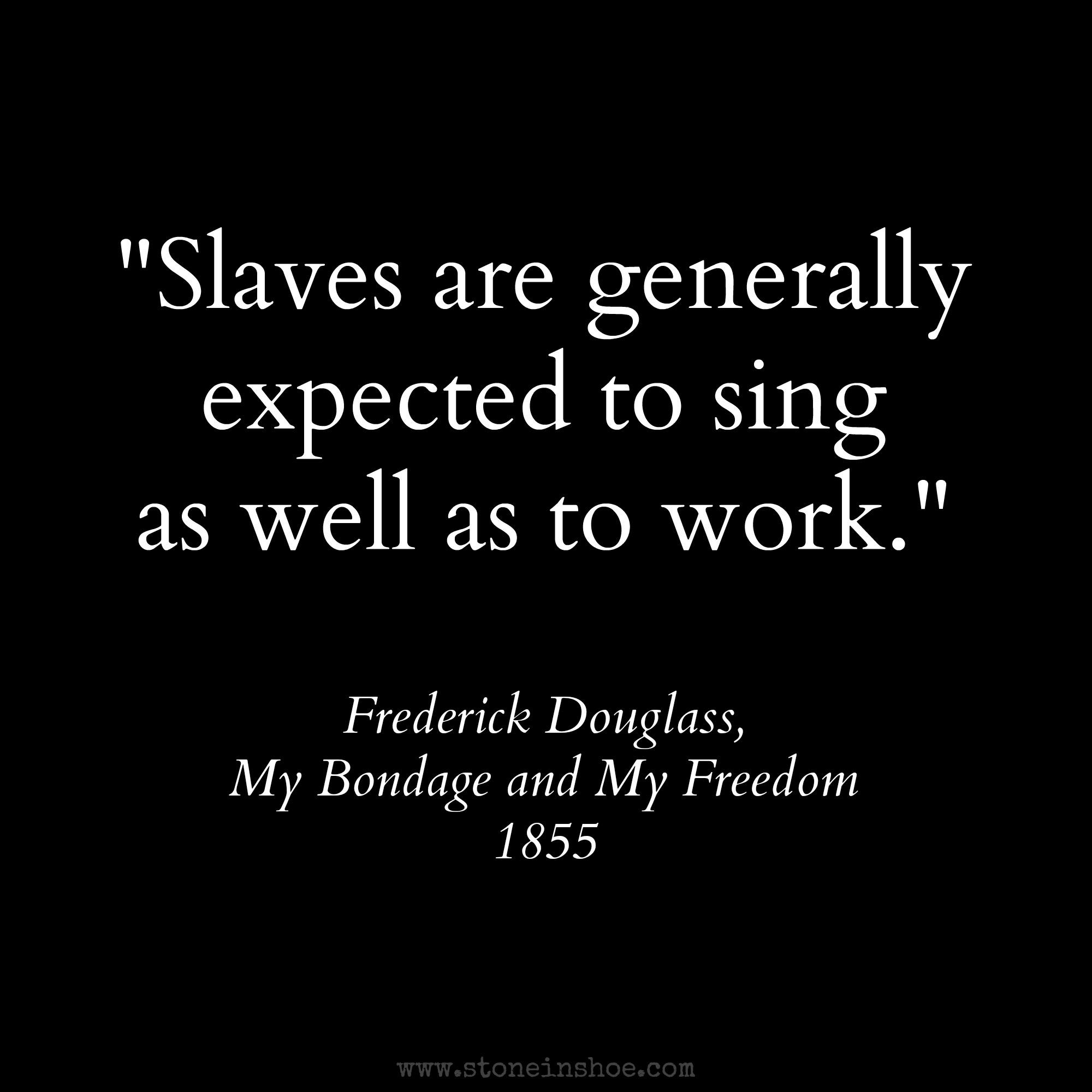 Frederick Douglass Quotes On Slavery Quotesgram