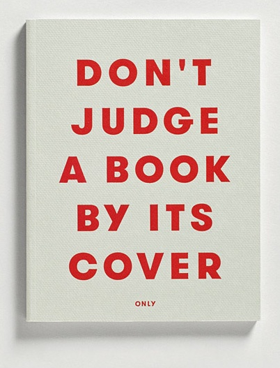 Food Book Cover Quotes : Dont judge a book by its cover quotes quotesgram