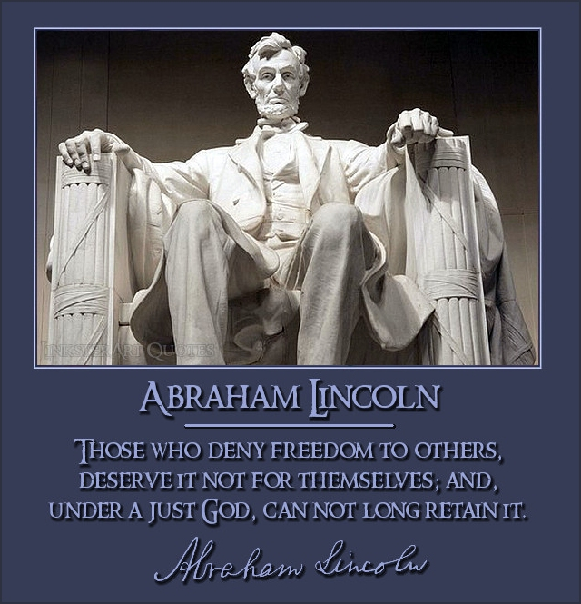 Abraham Lincoln Quotes On Slavery: Lincoln Quotes Welfare. QuotesGram