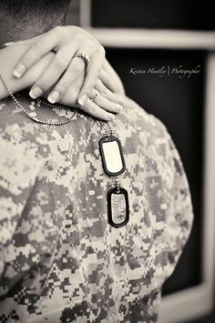 Army Love couple Hd Wallpaper : Heroes Wear Dog Tags Military Quotes. QuotesGram