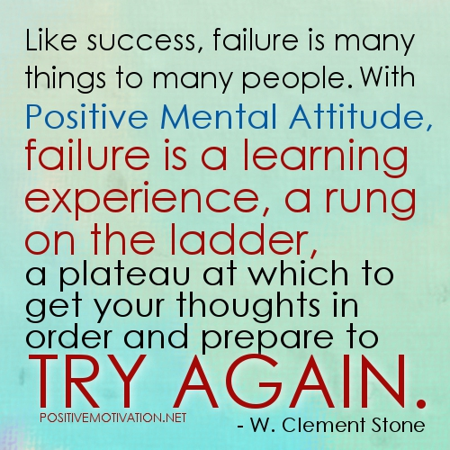 Inspirational Quotes About Failure: Try Again Quotes. QuotesGram