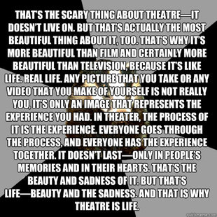 Theater Quotes And Sayings Funny. QuotesGram