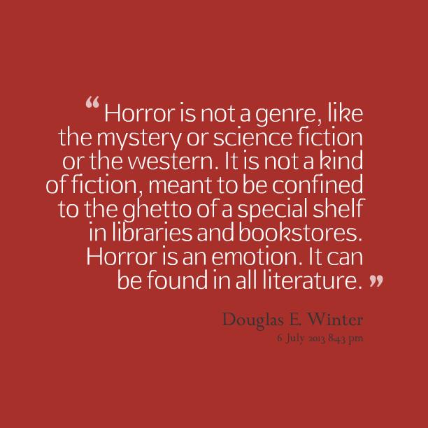 horror quotes  quotesgram