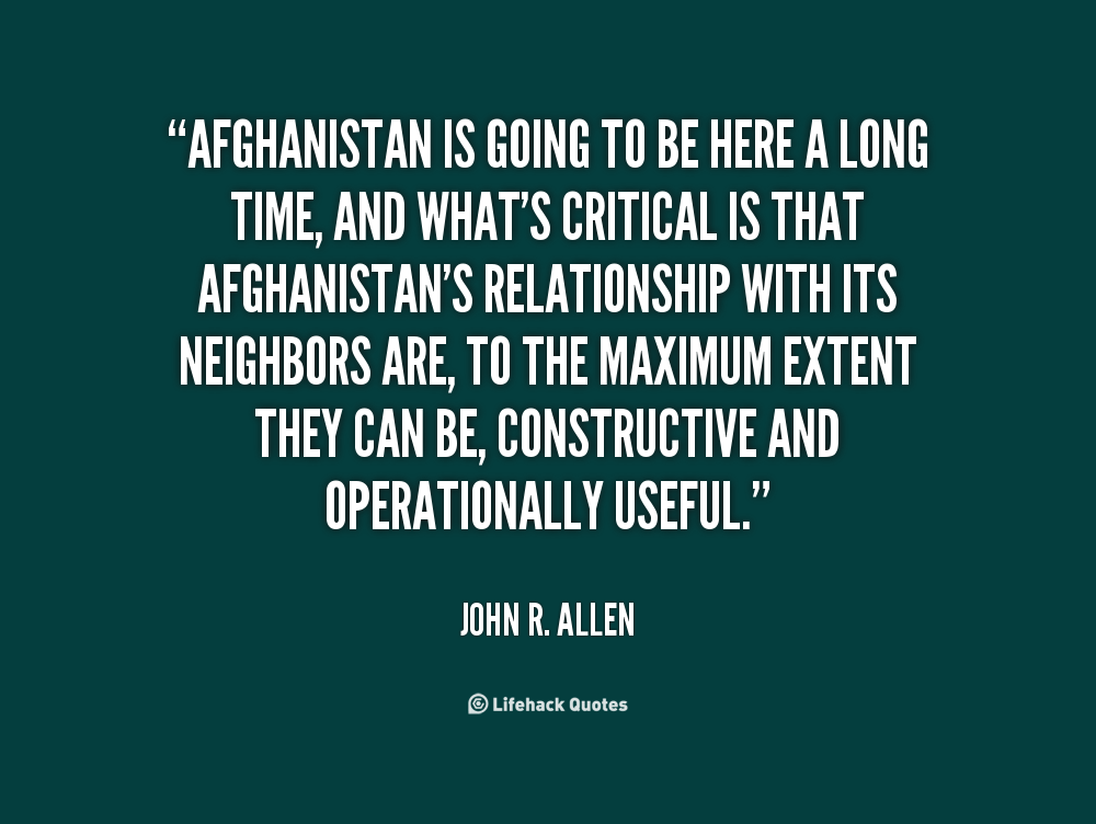 Afghanistan Quotes. QuotesGram