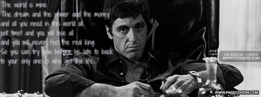 Scarface Quotes You Need People Like Me. QuotesGram