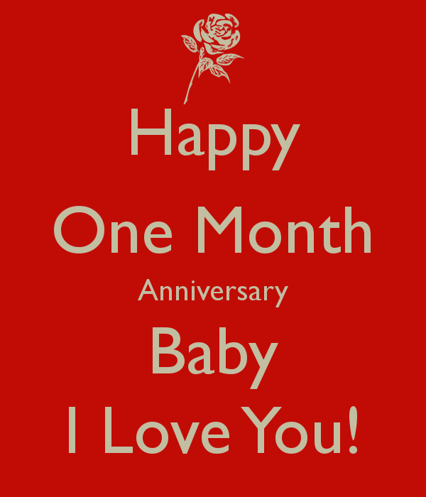 1 Month Anniversary Quotes Funny Quotesgram