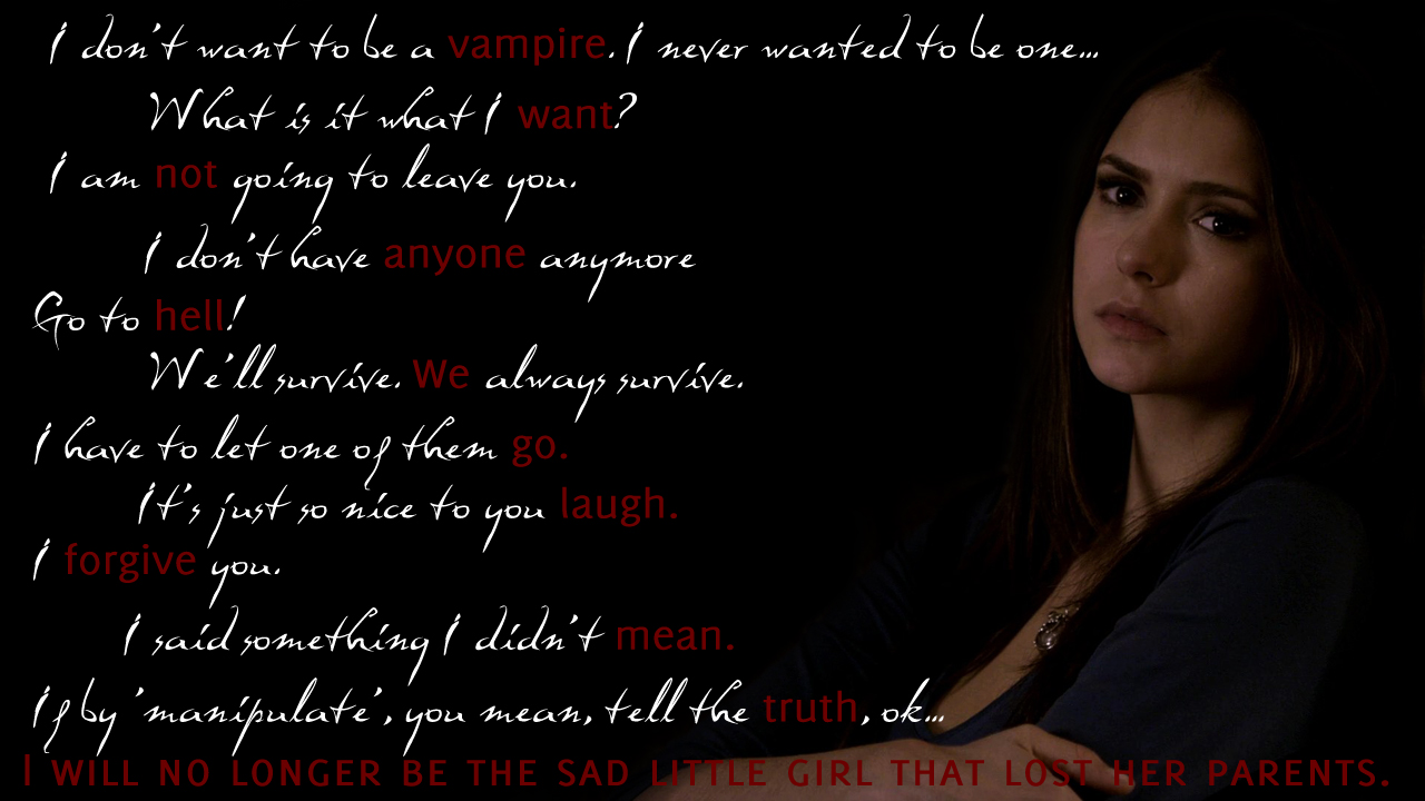 Vampire Diaries Elena Quotes. QuotesGram