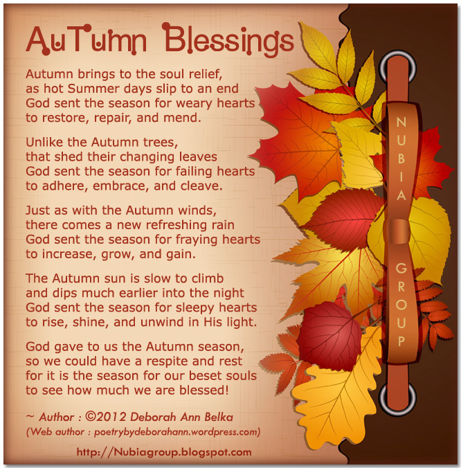 Inspirational Quotes About Positive: Autumn Blessings Quotes. QuotesGram