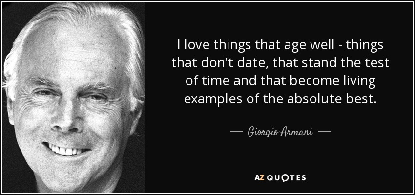 Love Quotes About Time Standing Still: Giorgio Armani Quotes. QuotesGram