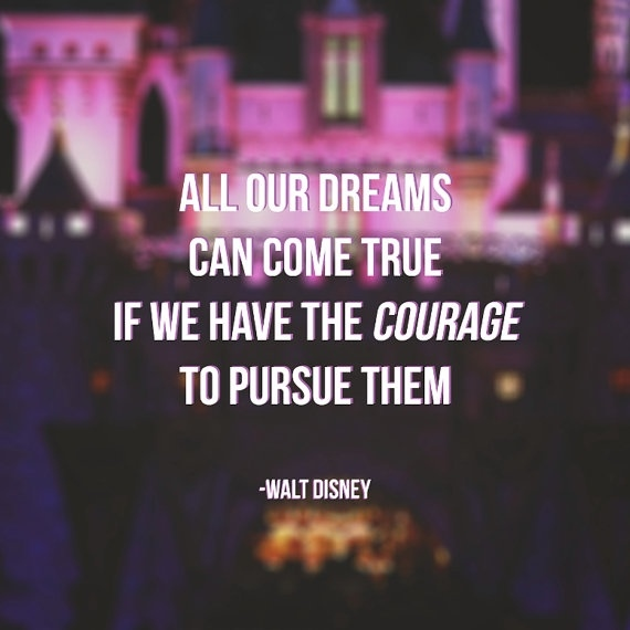 Inspirational Walt Disney Quotes: By Walt Disney Quotes. QuotesGram
