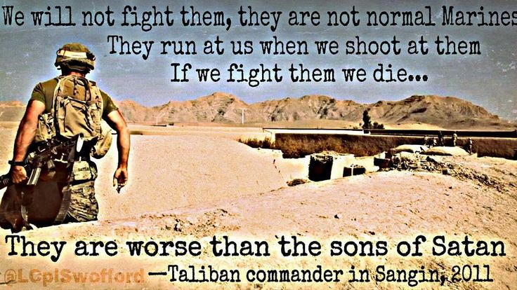 Taliban Quotes About Marines Quotesgram